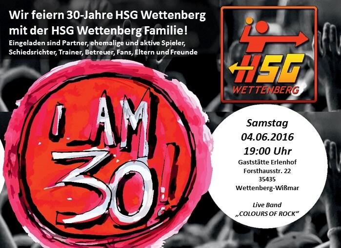 30 Jahre HSG Wettenberg