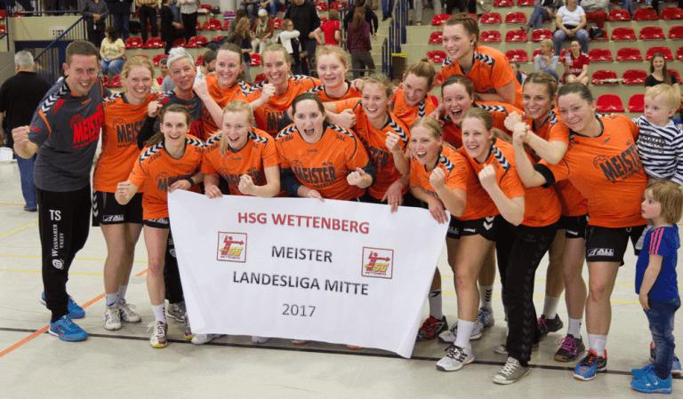 Frauen 1 Aufstieg Oberliga 2017