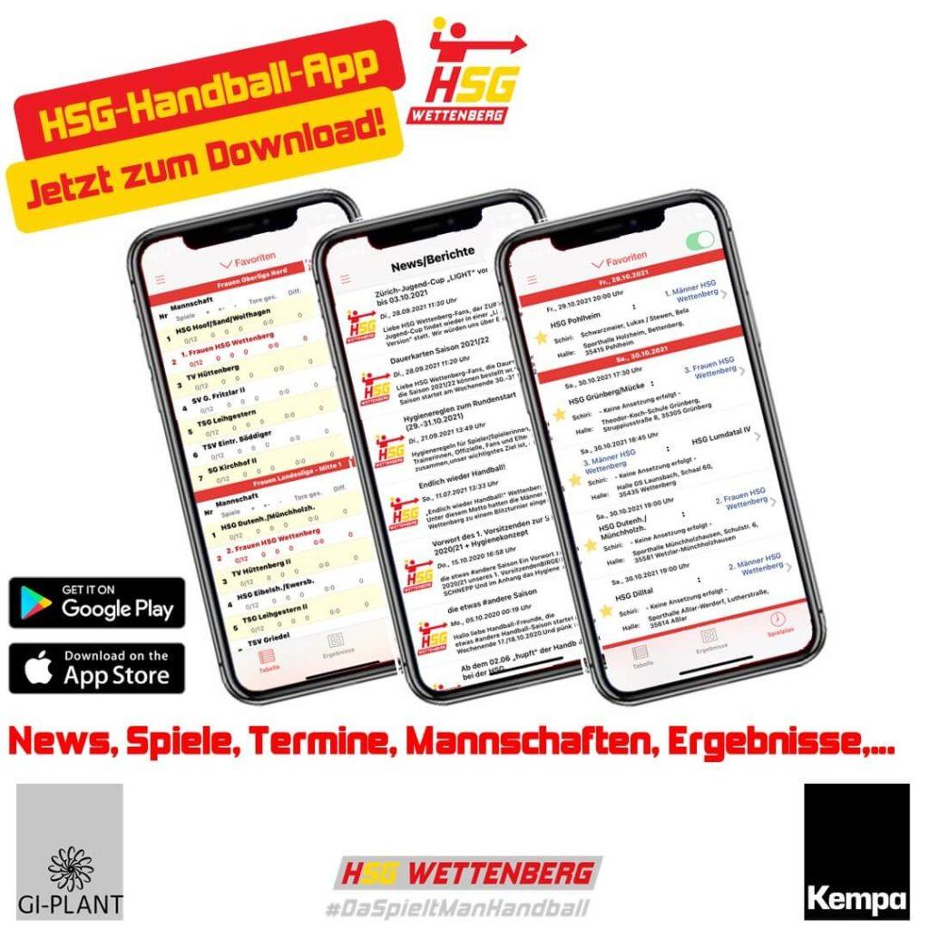 HSG-Wettenberg-App